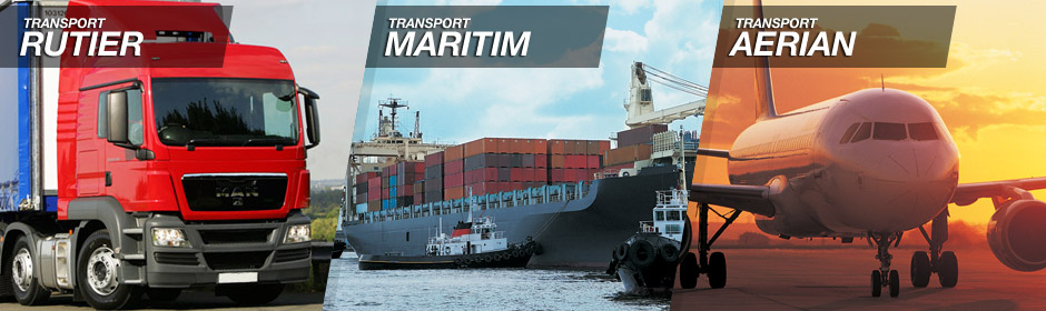 transport international - rutier, maritim si aerian